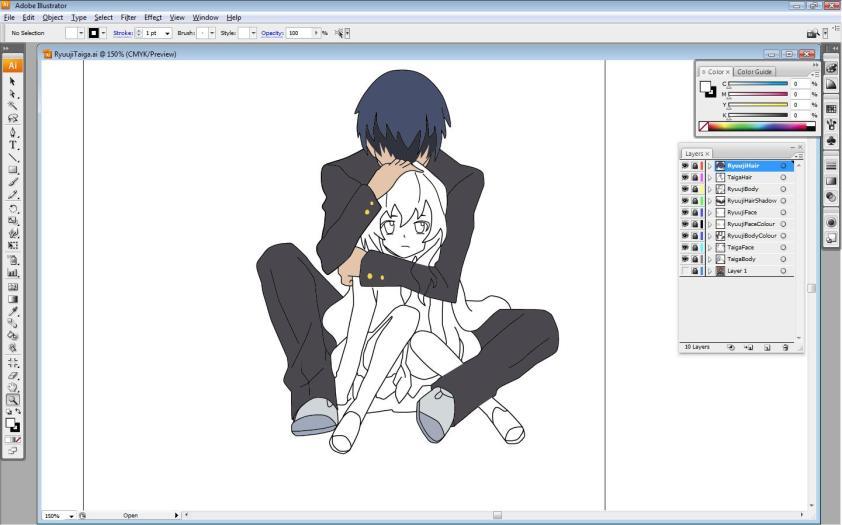 Ryuuji + Taiga [WIP]