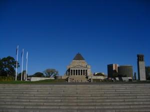 A war memorial mainly for WW2