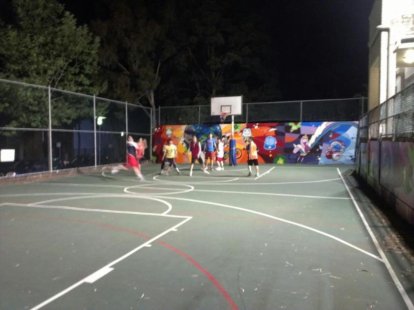 Basketball @ Pyrmont